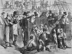 émigration irlandaise de 1863