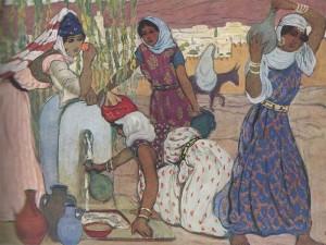 Une fontaine à Tlemcen - 1930