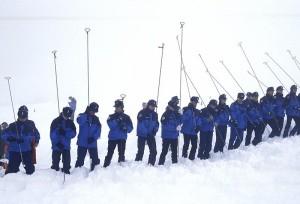 Recherche de victimes d'avalanches