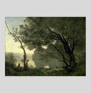 Souvenir de Mortefontaine de Camille Corot - Musée d'Orsay