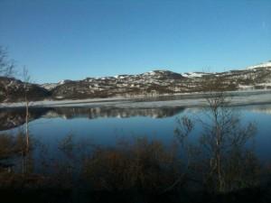 14 juin - encore un peu de glace au fond des fjords
