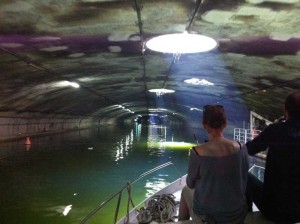 Entrée dans la partie souterraine du canal saint-Martin