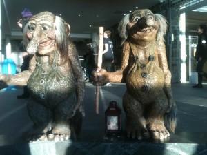 Trolls géant au Cap Nord