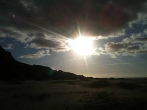 23 heures, plage de Buneset - Lofoten