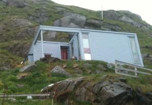 maison d'architecte à Nyksund