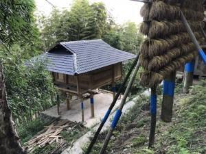 séchoir à riz - village Dong