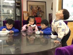 l'heure du dîner à Fenghuan