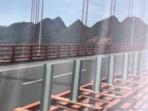Guizhou, pont à haubans