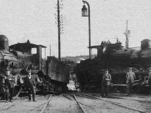 Grève des cheminots en 1910