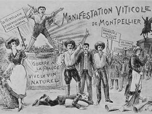 Insurrection des viticulteurs du midi - 1907