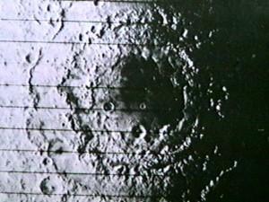La mer orientale, le plus grand cratère lunaire