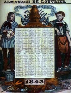 Almanach de l'ouvrier