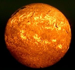 la chromosphère solaire