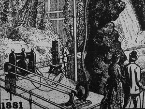 La houille blanche à l'exposition d'électricité de 1881