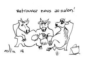 impromptus entre vaches