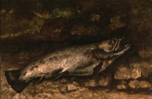 La Truite, de Gustave Courbet - Musée d'Orsay