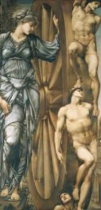 La roue de la fortune d'Edward Burne-Jones - Musée d'Orsay
