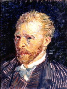 Potrait de l'artiste de Vincent Van Gogh - Musée d'Orsay
