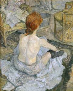 Rousse ou La Toilette, Henri de Toulouse Lautrec - Musée d'Orsay