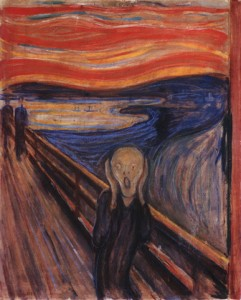 Le Cri, d'Edvard Munch - Galerie nationale d'Oslo