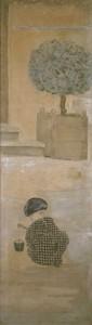 L'enfant au pâté de sable, Pierre Bonnard - Musée d'Orsay -