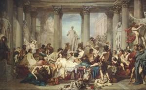 Les Romains de la décadence de Thomas Couture - Musée d'Orsay
