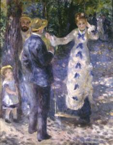 La Balançoire d'Auguste Renoir - Musée d'Orsay