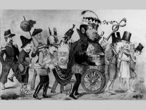 Le Socialisme, caricature