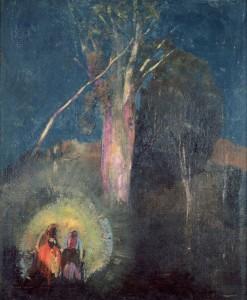 Le fuite en Égypte d'Odilon Redon - Musée d'Orsay