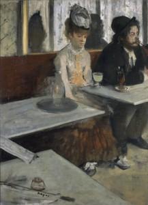 L'absinthe, d'Edgar Degas - Musée d'Orsay