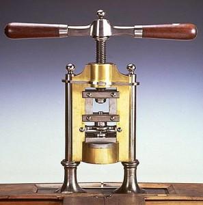 Machine à découper les pignons, par Vaucanson © L'Album du musée des arts et métiers