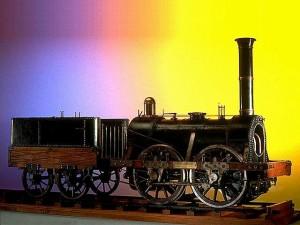 modèle de locomotive Stephenson © l'Album du musée des arts et métiers