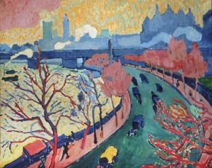 Le pont de Charing Cross d'André Derain - Musée d'Orsay