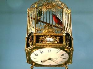 Cage à oiseaux chanteurs, automates de 1785 © Musée des arts et métiers, l'Album