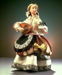 Joueuse de mandoline © Musée des arts et métiers, l'Album