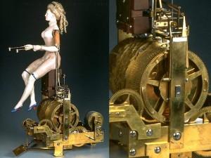 Mécanisme de la joueuse de tympanon - © Musée des arts et métiers, l'Album