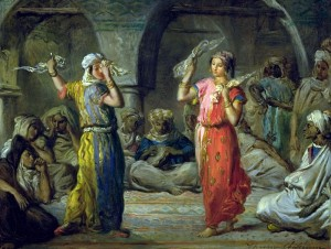 Théodore Chassériau, Danseuses marocaines - Musée d'Orsay