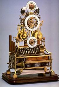 pendule à musique © L'Album du Musée des arts et métiers