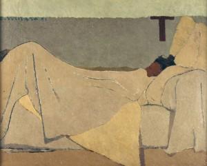 Au lit d'Édouard Vuillard - Musée d'Orsay
