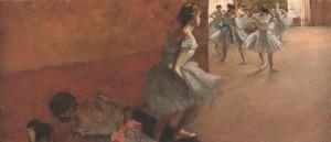 Danseuses montant un escalier - Edgar Degas - Musée d'Orsay