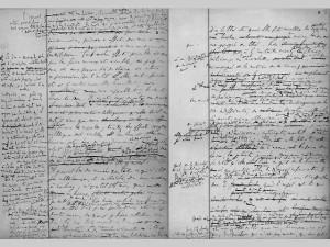 manuscrit de Proust