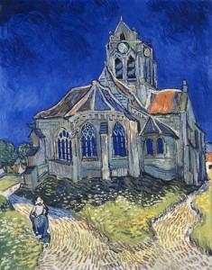 L'église d'Auvers sur Oise de Vincent Van Gogh - Musée d'Orsay