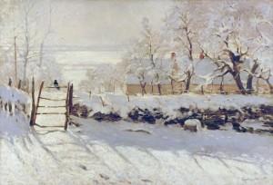 La pie - Claude Monet - Musée d'Orsay