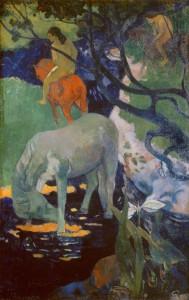 Le cheval blanc - Paul Gauguin