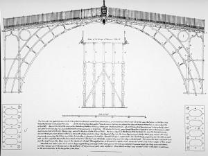 Plnas du pont de Coalbrookdale
