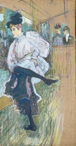 Jane Avril dansant de Henri de Toulouse Lautrec - Musée d'Orsay