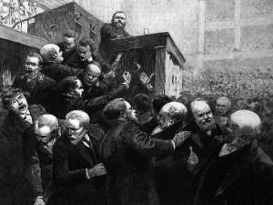 l'affaire Dreyfus déchaîne les passions