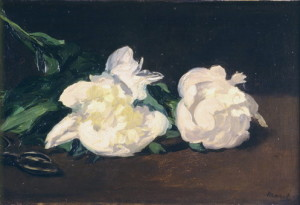 Aplat du fond brun dans ce tableau de Manet