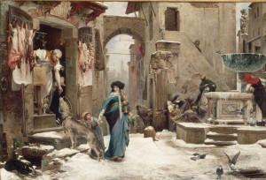 Le loup de Gubbio  de Luc-Olivier Merson