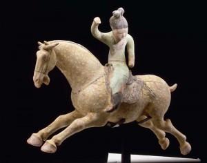 Joueuse de polo - Chine - Musée du Louvre